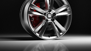 Ibiza alloy wheel.